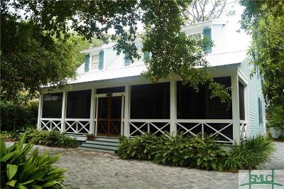 Tybee Island Single Family Home For Sale: 609 2nd Avenue