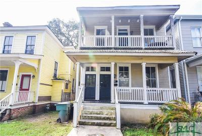 Savannah Multi Family Home For Sale: 215 W 38th Street