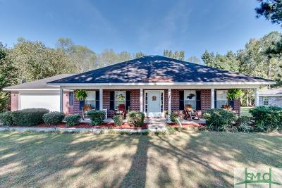 Rincon Single Family Home Active Contingent: 156 Huger