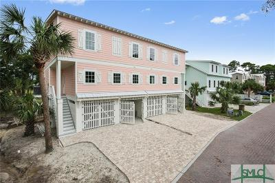Tybee Island Condo/Townhouse For Sale: 209 5th Avenue #A