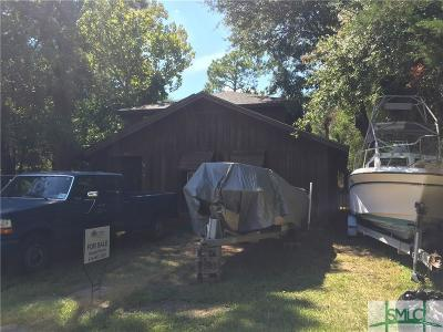 Tybee Island GA Single Family Home For Sale: $475,000