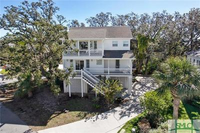 Tybee Island Single Family Home For Sale: 7 Teresa Lane