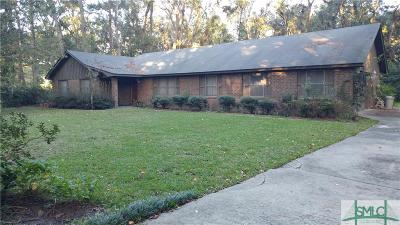 Savannah Single Family Home For Sale: 13326 White Bluff Road