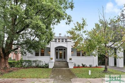 Savannah Single Family Home Active Contingent: 528 E 44th Street