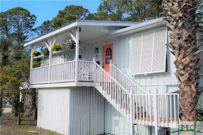 Tybee Island Single Family Home For Sale: 701 1st Street