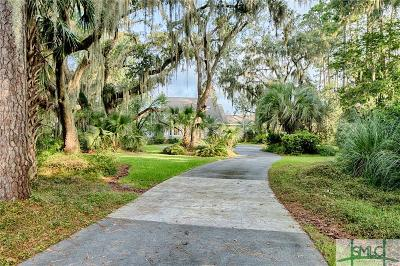 Savannah Single Family Home For Sale: 4 Seafarers Circle