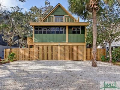 Tybee Island Single Family Home For Sale: 9 Linton Street