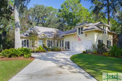 Savannah Single Family Home For Sale: 4 Skipjack Lane