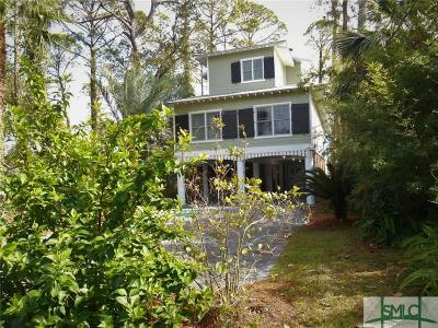 Tybee Island Single Family Home For Sale: 146 S Campbell