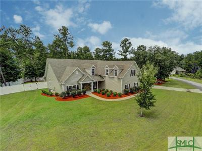 Guyton Single Family Home For Sale: 123 Ruby Trail