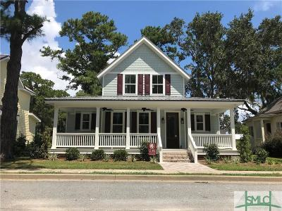 Midway Single Family Home For Sale: 90 N Yellow Bluff Drive E