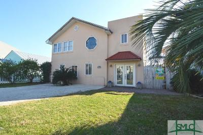 Tybee Island Single Family Home For Sale: 24 Pulaski Street