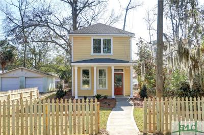 Savannah Single Family Home For Sale: 1405 E 38th Street