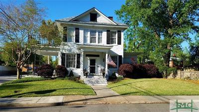 Savannah Single Family Home For Sale: 202 E 49th Street