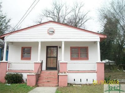 Savannah Single Family Home For Sale: 223 Cumming Street