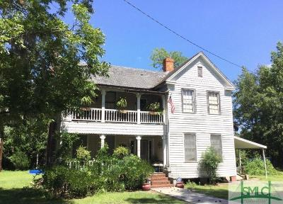 Clyo Single Family Home For Sale: 164 Marion Avenue