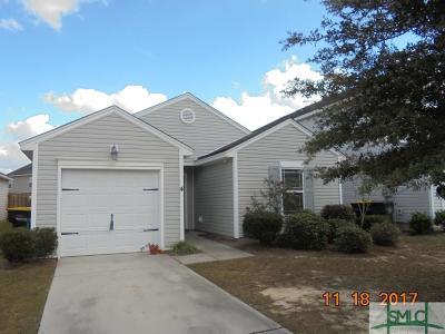 Savannah Single Family Home For Sale: 4 Fall Lake