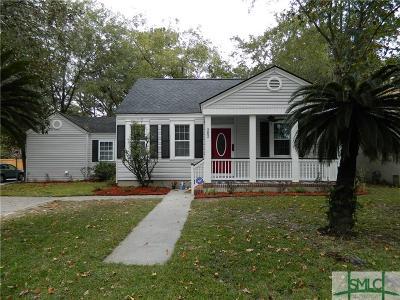 Savannah Single Family Home For Sale: 202 Columbus Drive
