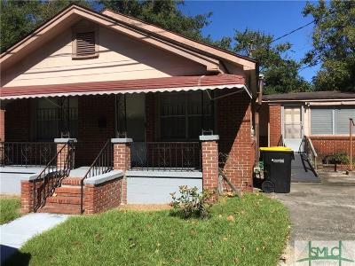 Savannah Single Family Home Active Contingent: 2116 Weldon Street