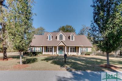 Guyton Single Family Home For Sale: 5 Live Oak