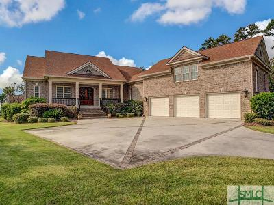 Savannah Single Family Home For Sale: 25 Cedar View Drive