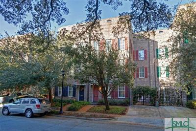 Savannah Condo/Townhouse For Sale: 412 E McDonough Street
