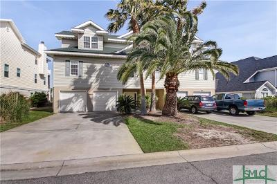 Tybee Island Condo/Townhouse For Sale: 62 Captains View