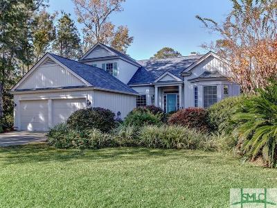 Savannah GA Single Family Home For Sale: $520,000