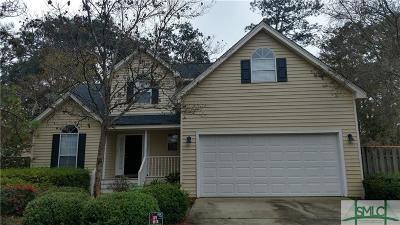Savannah Single Family Home For Sale: 546 Oemler Loop