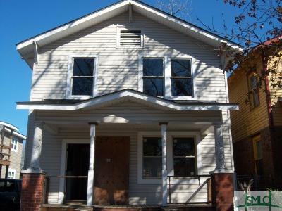 Savannah Single Family Home For Sale: 856 E 35th Street
