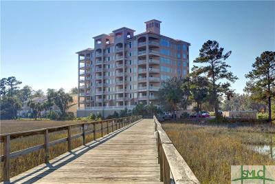 Savannah Condo/Townhouse For Sale: 8001 Old Tybee Rd #101