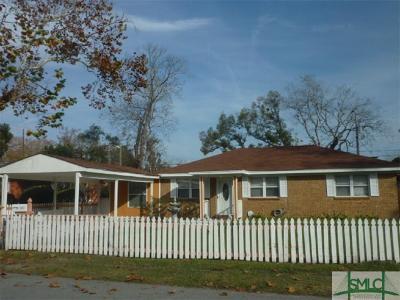 Savannah Single Family Home For Sale: 906 E 32nd Street