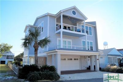 Tybee Island Single Family Home For Sale: 18 Pulaski Road