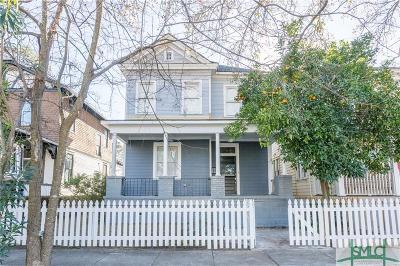 Savannah Single Family Home For Sale: 809 E Park