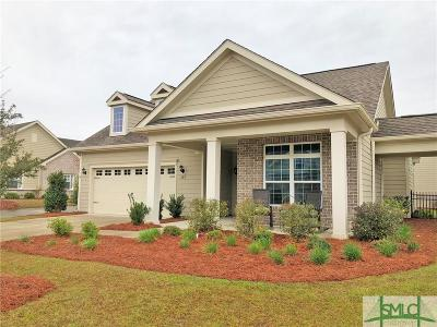 Pooler Condo/Townhouse For Sale: 157 Kingfisher Circle