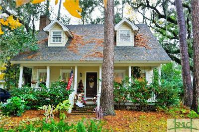 Savannah Single Family Home For Sale: 10 Brighton Way