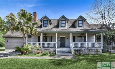 Savannah Single Family Home For Sale: 106 S Paxton Drive