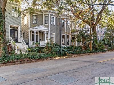 Savannah Single Family Home For Sale: 205 W Gwinnett Street