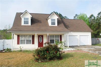Pooler Single Family Home For Sale: 123 Blue Gill Lane