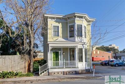 Savannah Single Family Home For Sale: 1210 Whitaker Street