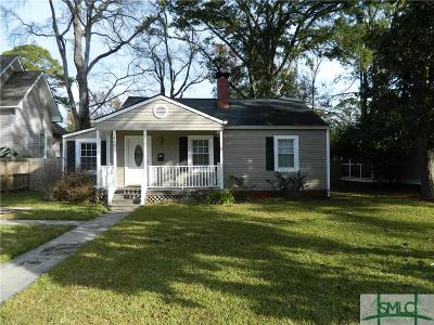 Savannah Single Family Home For Sale: 406 E 58th Street