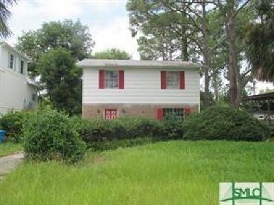 Tybee Island GA Single Family Home For Sale: $265,000