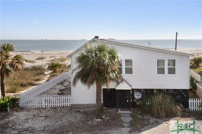 Tybee Island GA Single Family Home For Sale: $1,650,000