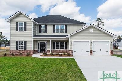 Ludowici Single Family Home For Sale: 52 Way Station Way