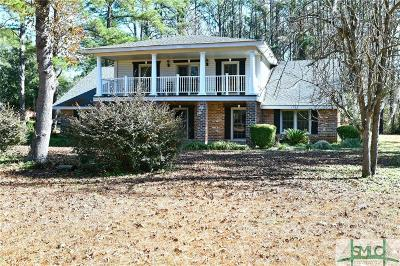 Savannah Single Family Home For Sale: 10804 White Bluff Road