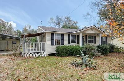 Ellabell Single Family Home For Sale: 101 Mack Edwards Road