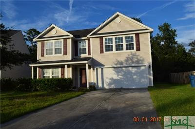 Port Wentworth GA Single Family Home For Sale: $176,900