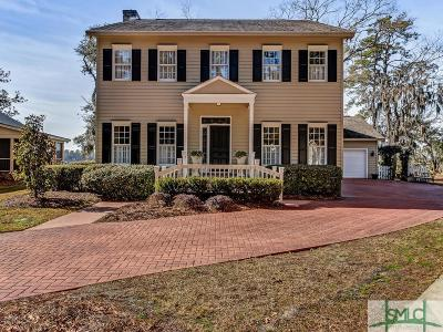 Savannah Single Family Home For Sale: 119 N Marsh Road