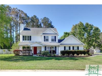 Pooler Single Family Home For Sale: 60 Golden Gate Drive