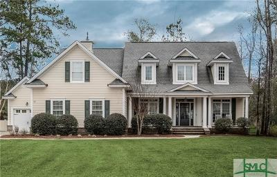 Pooler Single Family Home For Sale: 10 Grand View Court